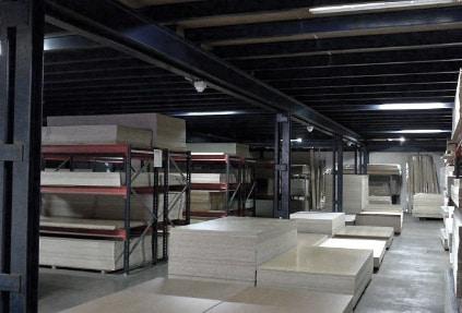Almacen stock tableros